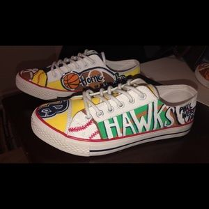 Shoes - Hand Painted, Custom Shoes